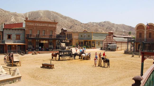 Mini Hollywood en el Desierto de Tabernas, Almería