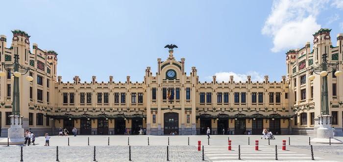 Las ciudades de Europa con mejor transporte público. Estación del Norte de Valencia
