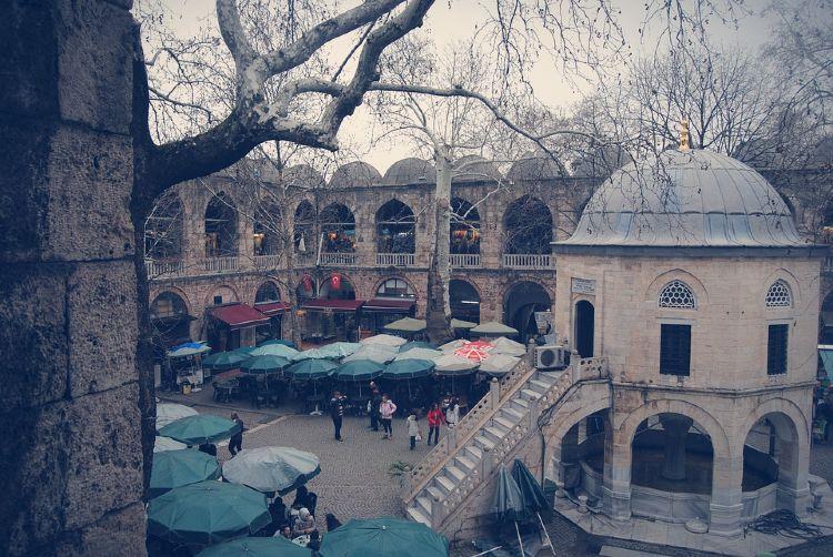 Mercado de la seda, Bursa