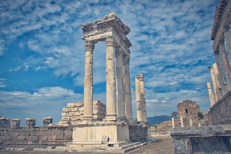 Ruinas de la ciudad de Pérgamo