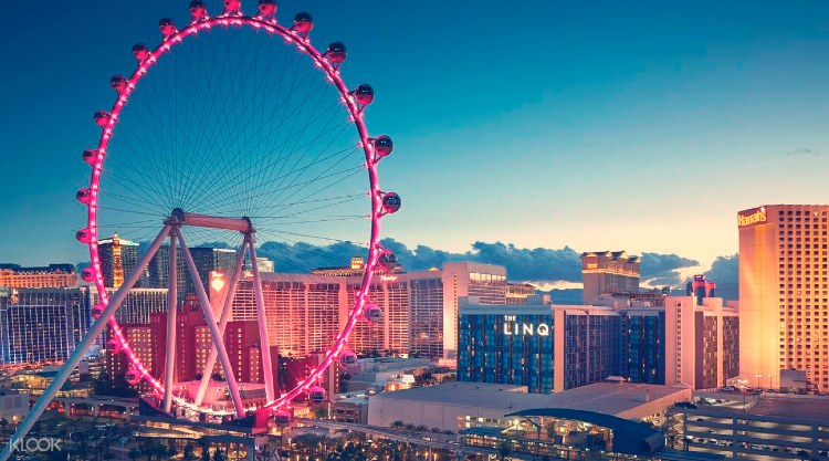 Records Guinness. High Roller Las Vegas