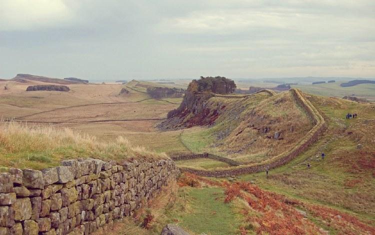 Muro de Adriano Inglaterra