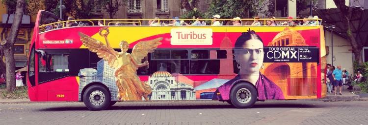 Qué visitar en México. Autobús turístico de México