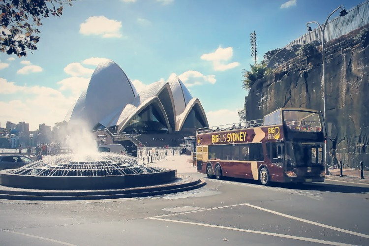 Autobus turistico Sidney